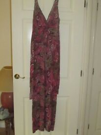 Next size 12 Maxi Dress