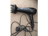 Phillips hairdryer with diffuser