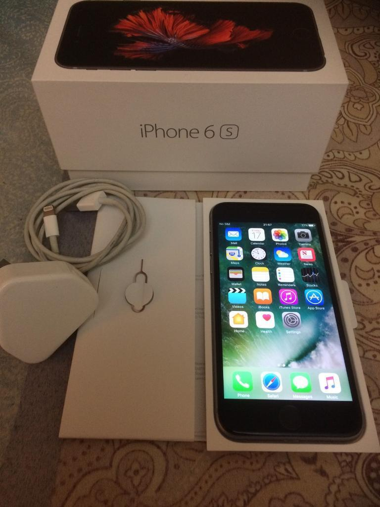 iPhone 6S space grey 32gb brand new iPhonein Plymouth, DevonGumtree - iPhone 6S space grey 32gb .Brand new iPhone used only few weeks. Still under Apple valid warranty. Original box and original charger included.EE ,and orange network.Factory reset Selling unwanted Christmas gift.View welcome