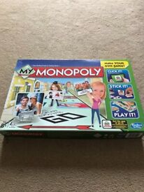 Brand New Monopoly Create your Own Board Game