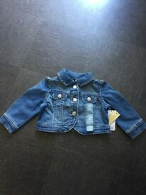 6-12months denim jacket, brand new unwanted gift