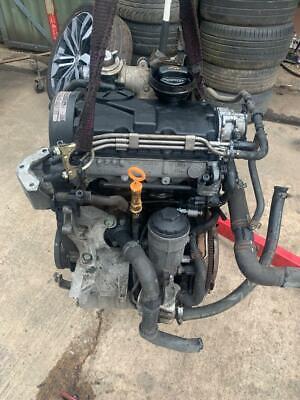 02-08 VW POLO 1.4TDI AMF ENGINE INC TURBO+INJECTORS COMPLETE 87K MILES GENUINE