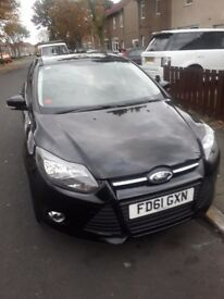 61 plate ford focus