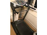 Pro fitness treadmill with a speaker 335/9363