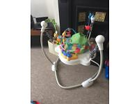 Jumperoo musical baby bouncer