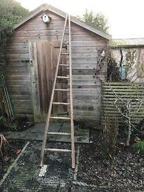 Vintage Tall Apple Pickers Ladder