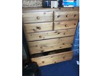 Ducal solid wood chest of drawers