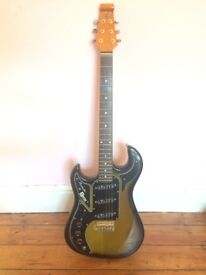 Burns Marquee electric guitar - left handed, lefty