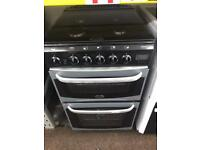 Black & silver cannon 50cm gas cooker grill & oven good condition with guarantee