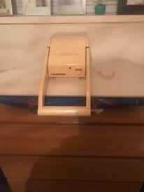 Steam ironing press