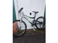 Giant full suspention mountain bike rrp £2200