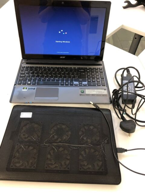 Acer Aspire 5755G laptop with 6-fan cooling pad & Windows 7 | in Shawlands,  Glasgow | Gumtree