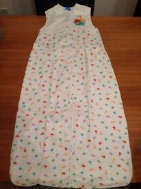 5 x genuine Grobag baby sleeping bags (18-36 months) (0.5 / 1.0 / 2.5 Tog)