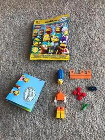 THE SIMPSONS MARGE LEGO MINIFIGURE SERIES 2