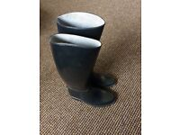 Childrens Black Riding Boots Size 13