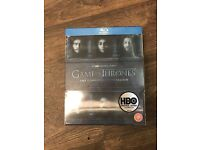 Brand new sealed Game of thrones season 6