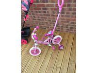 "Girls bike for sale 10""(new)£25"