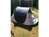 Pop up tent ( not kid one) sleeps 3 good condition only used once ,