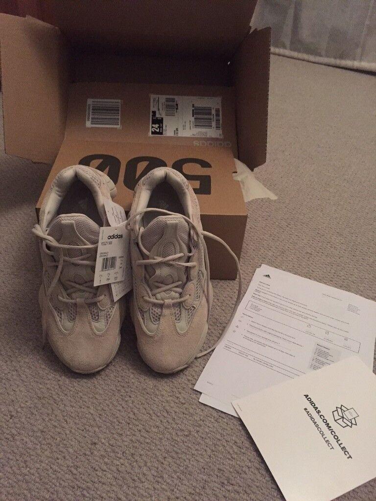 adidas yeezy 500 blush size 7.5UK  ea13bfa8d