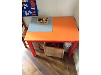 Free wooden toddler table