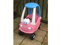 Little tikes pink car - sold pending collection