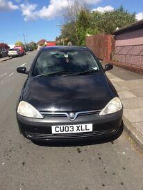 Vauxhall Corsa 1.2 Sxi Black