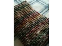 Hand-made woollen scarf for sale - one of a kind!