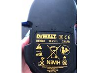DeWalt battery 18v DE9503 Never Used
