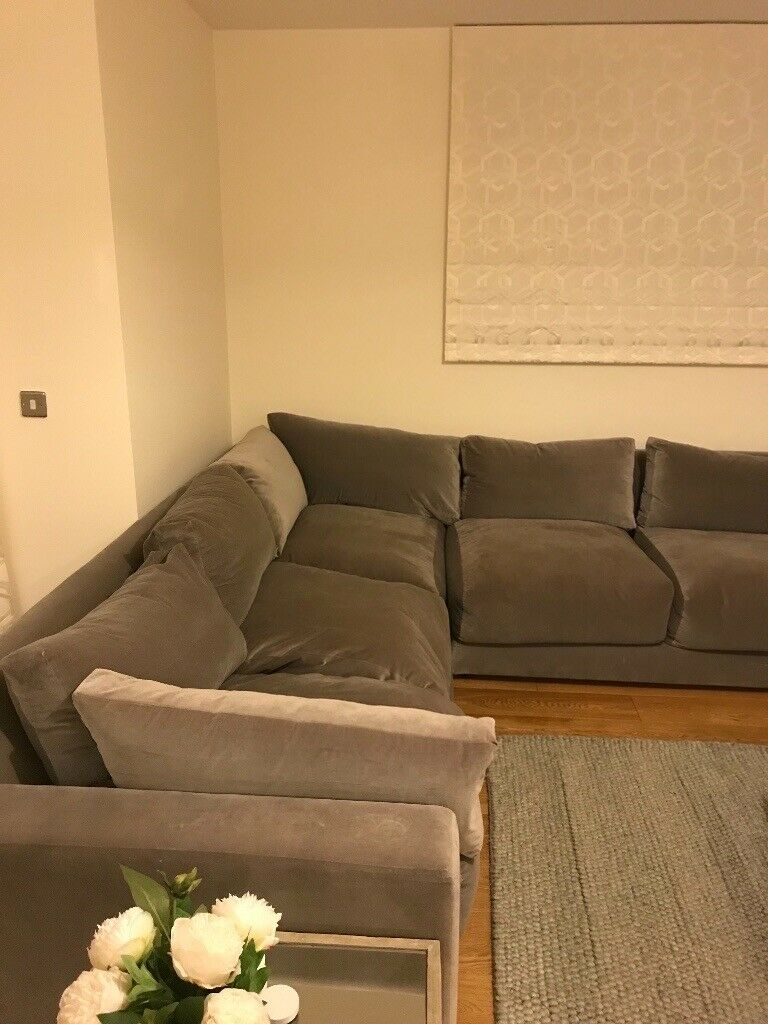 huge discount 83bdd 8bc7a Grey LOAF Corner Sofa. Original price 2.5k. Collection only. Decorative  cushions included. | in Oxford, Oxfordshire | Gumtree