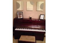 Piano for sale, cost £1550 from Cranes, sell for £800. Immaculate condition, just needs tuning.