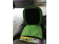 Trunki booster seat and backpack in one