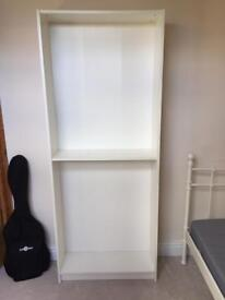Ikea white Billy bookcase