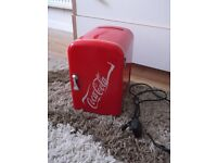 4L LITRE COCA COLA NWC4C MINI FRIDGE CHILLER COOLER/WARMER