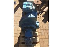 Lister Twin Cylinder Diesel 10HP Boat Engine and Gearbox