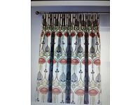 2 Pairs Dunelm Belle Epoque Made to Measure curtains