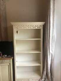 Belgravia white book case