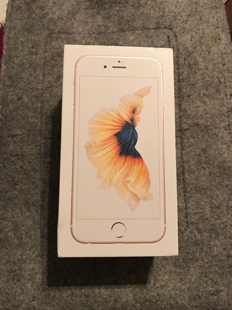 IPHONE 6S 64GB Gold unlocked perfect conditionin High Wycombe, BuckinghamshireGumtree - iPhone 6s 64GB gold Unlocked complete with original box, charger, and unused headphones. I only had it for few months and Im selling because I upgraded to iPhone 7. This phone is in perfect condition. text me please