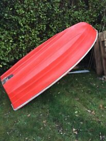 8 foot double skinned unsinkable dinghy