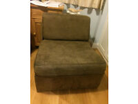 Fold Out Single Chair Bed