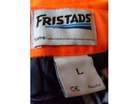 Padded work trousers