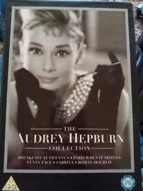 Audrey Hepburn 5 DVD collection