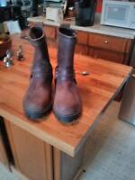 100% leather boots