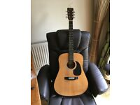 Encore Acoustic Guitar - 6 String - Good for Beginners