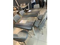 Affordable Prices on Dinning table and Chairs Different Colour Available