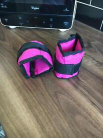 Wrist ankle weights