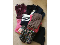 Bundle of women's clothes mainly size 8