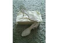 Bridal shoes size 8