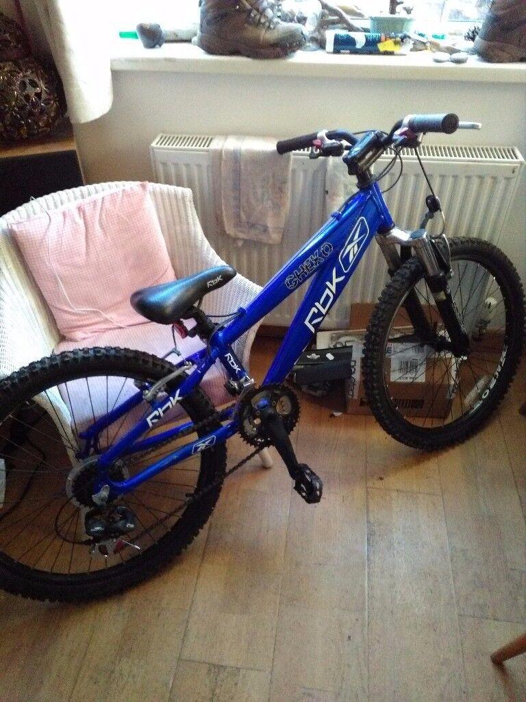 """Kids mountain bike 24"""" wheels,12speed"""
