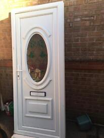 Used upvc door good condition
