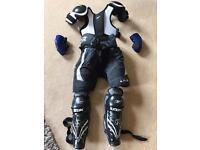 Junior ice hockey armour